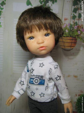 Кукла мальчик Грек