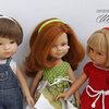 Ободки для волос кукле